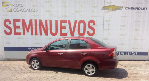 chevrolet aveo sedan 4p lt l4/1.6 man