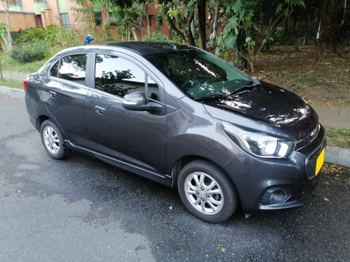 chevrolet beat ltz full gris 1,2 mt
