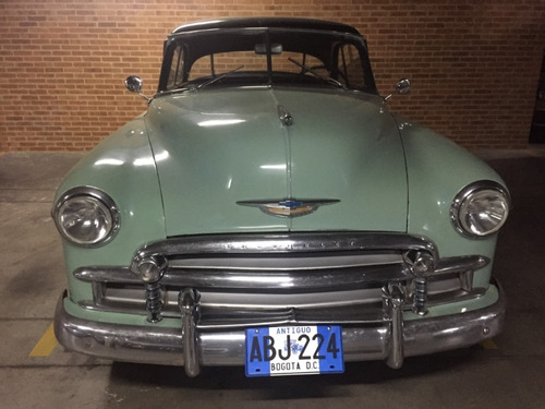 chevrolet bel air 1950 coupe sin parales