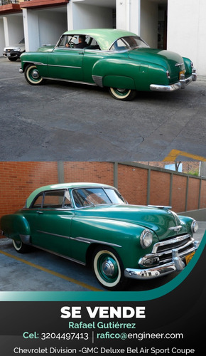 chevrolet bel air coupe de luxe 1951