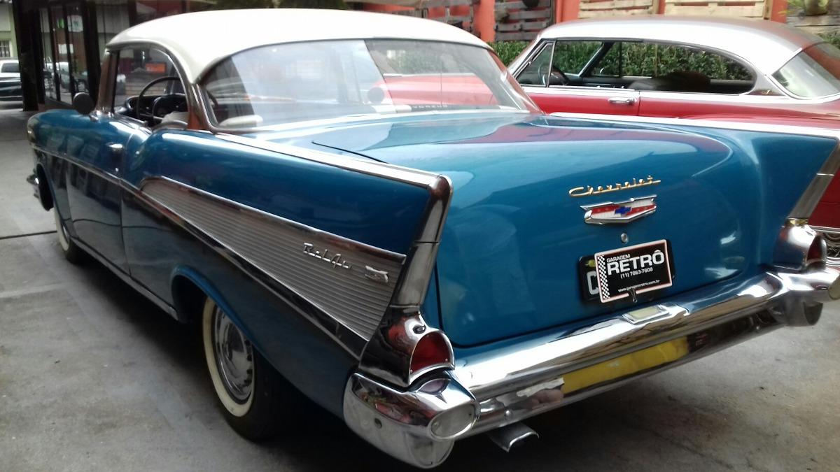 Chevrolet belair 57 1957 garagem retr r em for Garage peugeot bouc bel air