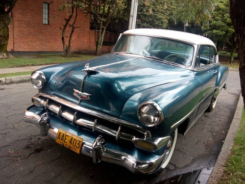 chevrolet belair  coupe sin parales 1954