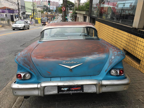chevrolet belair impala ss 1958sem coluna maverik camarotype