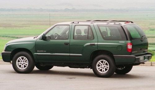 Chevrolet Blazer E S10 - Diagrama El U00e9trico Completo