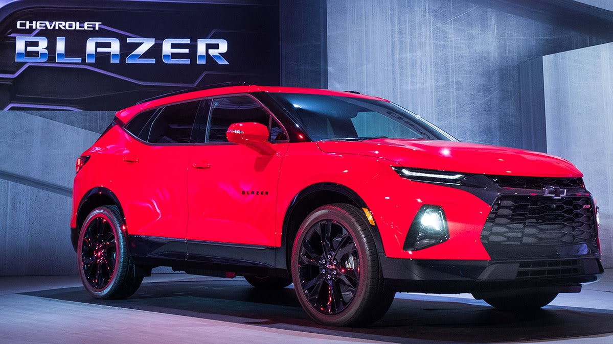 Chevrolet Blazer Rs 2019 - $ 759,900 en Mercado Libre
