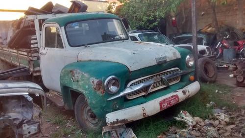 chevrolet brasil 1962 pickup reforma com documentos