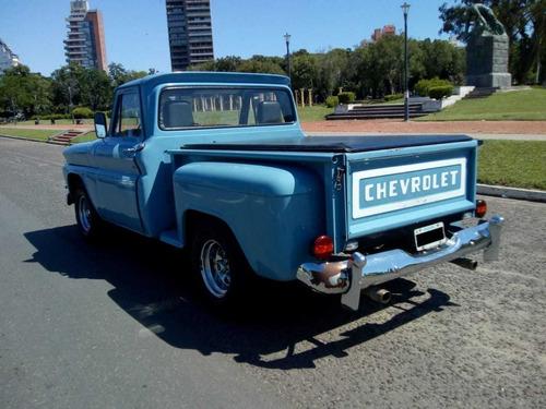 chevrolet c-10 año 1971 60.000 km reales de colección