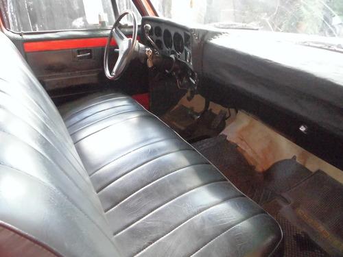 chevrolet c-10 pick-up automatica año 82