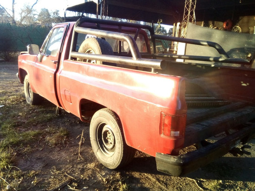 chevrolet c-10 pick-up silverado 5 vel custom m.92 motor 4.1