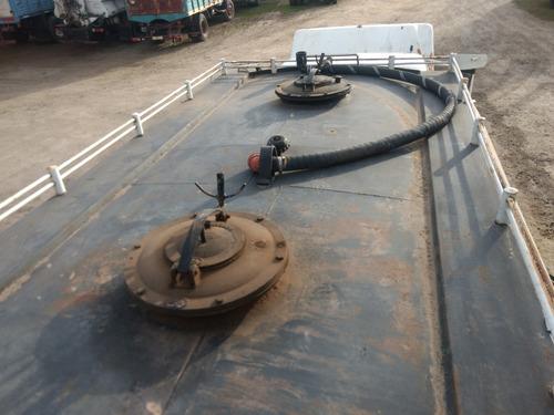 chevrolet c-60, con cisterna y bomba para combustible