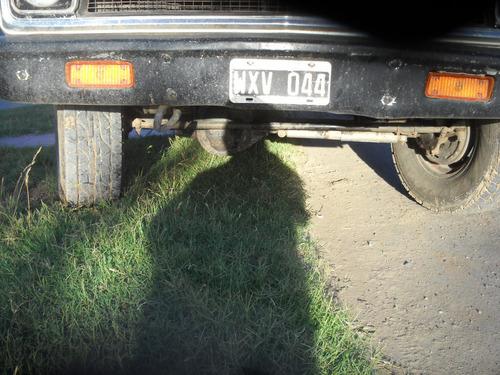 chevrolet c10  4x4 diesel original zf de 4ta reductora rowel