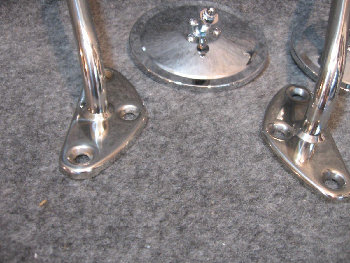 Chevrolet c 10 67 70 espejos laterales de barra 2 280 for Espejo y barra montessori
