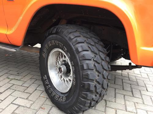 chevrolet c10 motor mwm 6cc+4x4+reduzida de caminhão doc ok