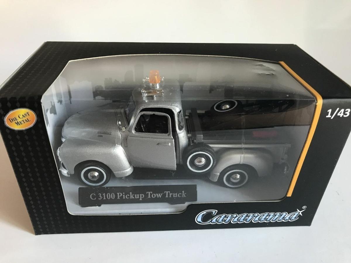 Chevrolet c3100 pickup grúa escala 1:43 de Cararama