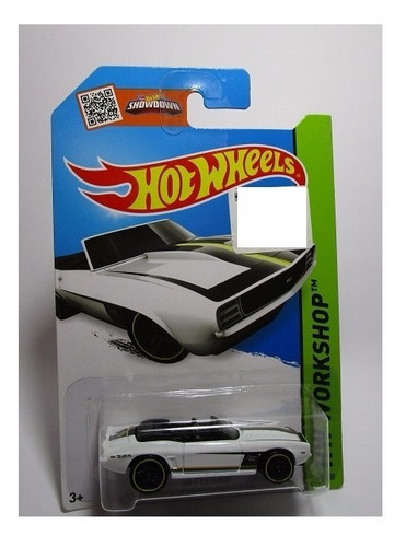 chevrolet camaro 1969 a escala de coleccion  hot wheels w9