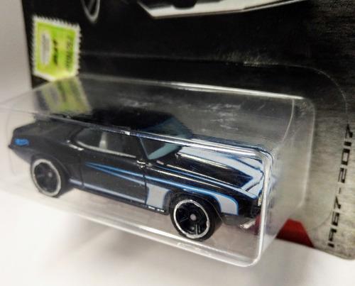 chevrolet camaro 1969 escala 1/64 hot wheels