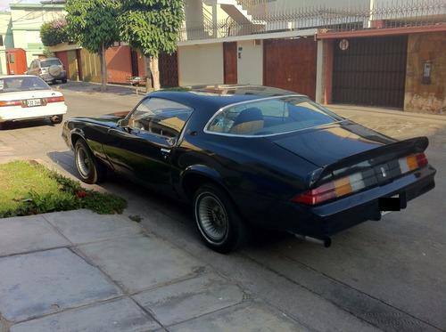 chevrolet camaro 1981 intacto