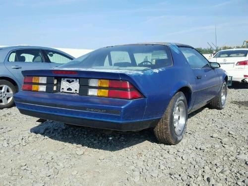 chevrolet camaro 1982-1992 visel de estereo