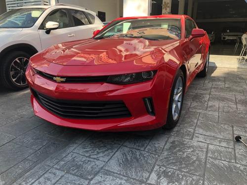 chevrolet camaro 2.0 lt t mt 2017 rojo