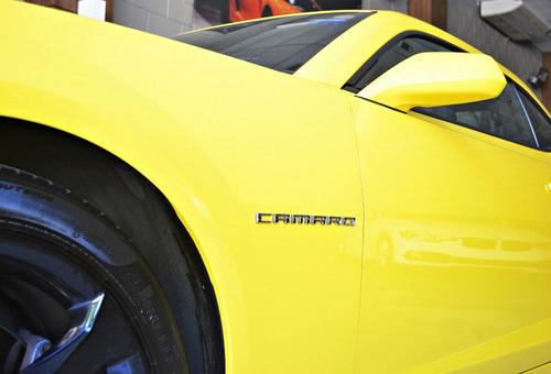 chevrolet camaro 6.2 v8 ss coupé, amarelo 2014/15