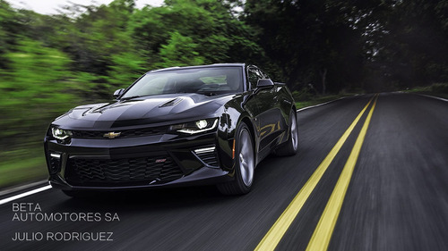 chevrolet camaro coupe ss 0km año 2017 rb