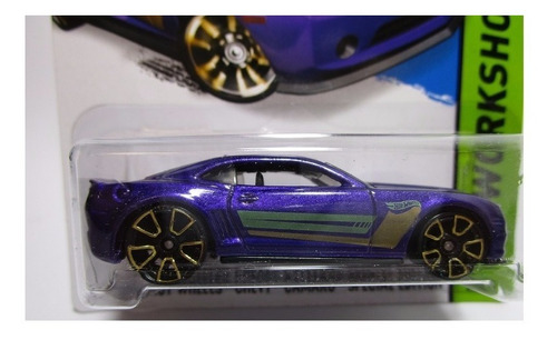 chevrolet camaro escala 1/64 coleccion  hot wheels