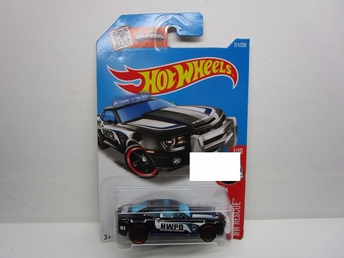 chevrolet camaro escala 1/64 coleccion  hot wheels  b1596