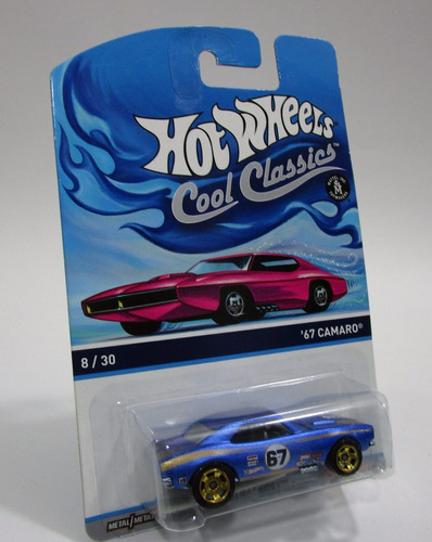 chevrolet camaro escala 1/64 coleccion hot wheels cool