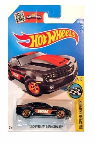 chevrolet camaro escala 1/64 coleccion hot wheels j12