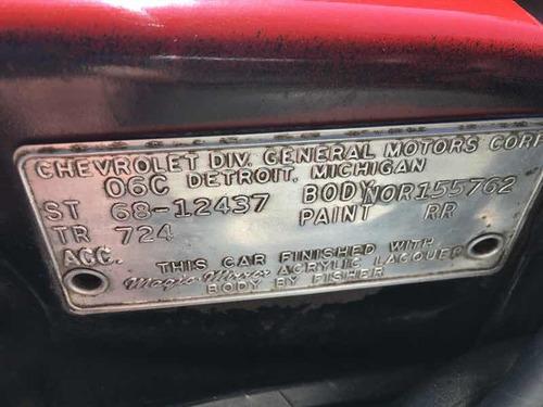 chevrolet camaro rs 1968