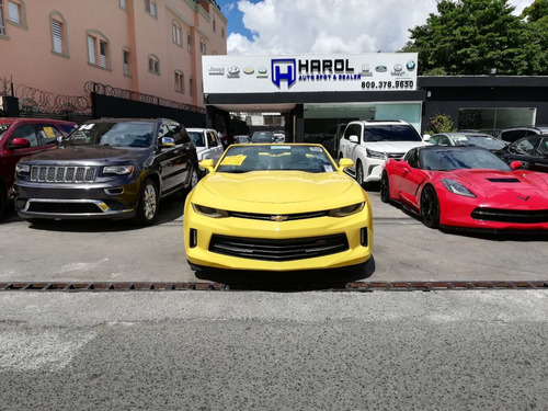 chevrolet camaro rs 2018 amarillo