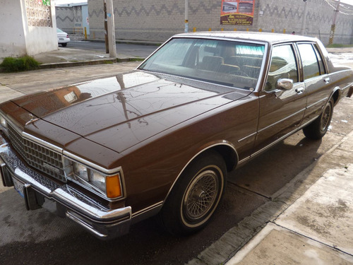 chevrolet caprice 1980 4 puertas impecable.