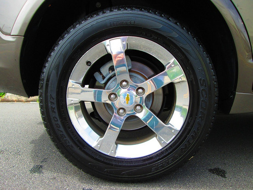 chevrolet captiva 2011 3.0 sport awd + couro 4 pneus novos