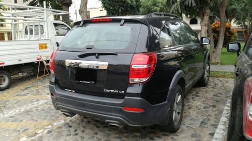 chevrolet captiva motor 2.4 2013 negro 5 puertas