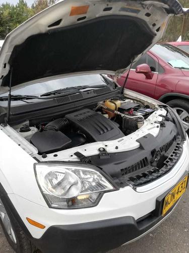 chevrolet captiva sport automático 2012 blanco 4 puertas