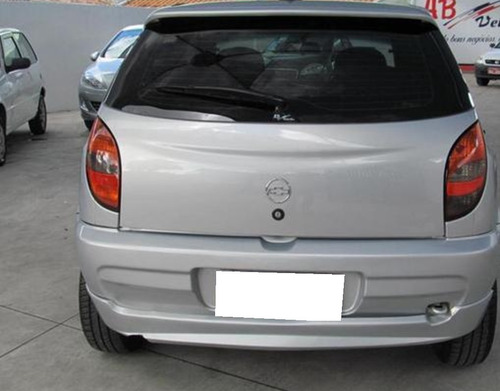 chevrolet celta 1.0 mpfi 8vgasolina prata 2001.