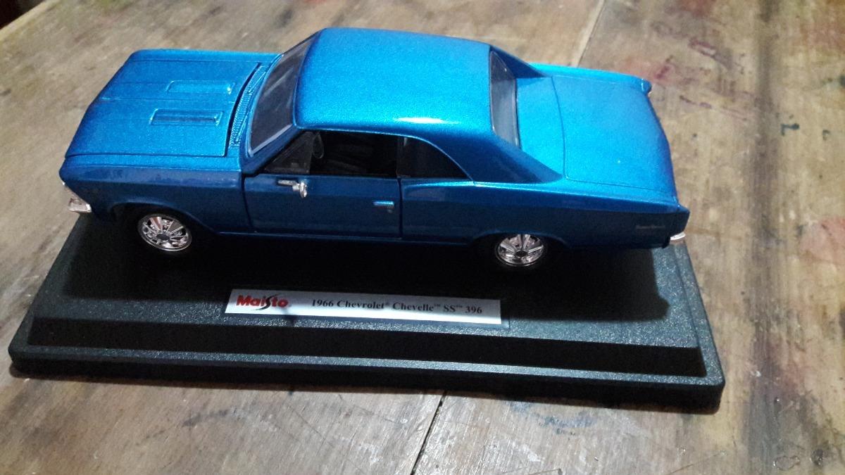 Maisto 1966 Chevrolet Chevelle Ss 396 All About Chevy Source 1 400 00 En Mercado Libre