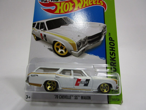 chevrolet chevelle ss wagon escala coleccion hot wheels