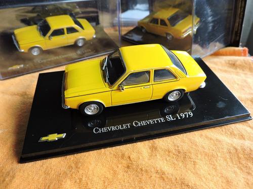 chevrolet chevete amarillo 1979 escala 1/43. fotos grandes