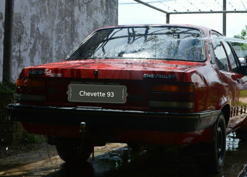 chevrolet chevette dl 1993 impecable!!