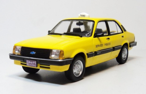chevrolet chevette taxi los mas queridos escala 1/43