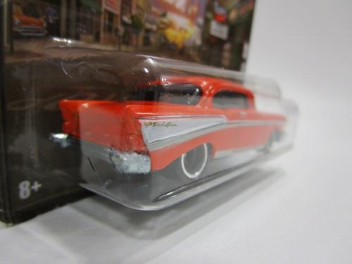 chevrolet chevy abre capo motor escala 1/64 hot wheels 7cm