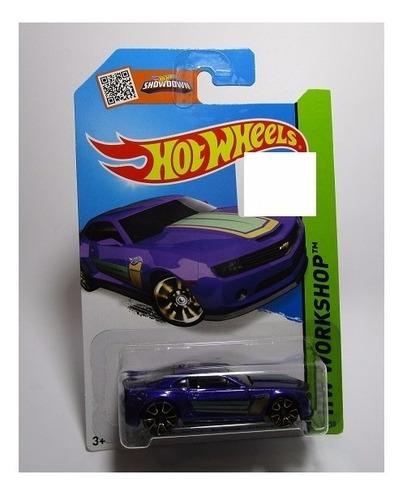 chevrolet chevy camaro escala 1/64 coleccion  hot wheels