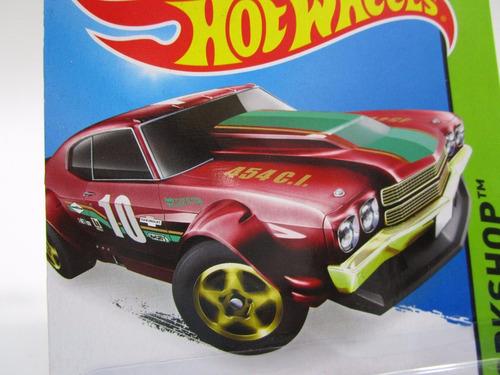 chevrolet chevy chevelle metalico coleccion hot wheels f1