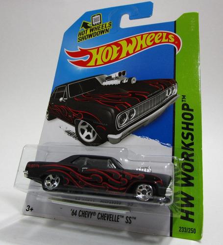 chevrolet chevy chevelle ss escala coleccion hot wheels 2013