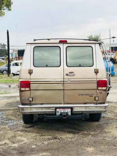 chevrolet chevy van camioneta 13 pasajer