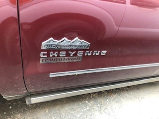 chevrolet cheyenne 6.2 2500 doble cab high country 4x4 mt