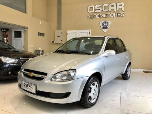 chevrolet classic 1.4 ls abs airbag full año 2014 gris plata