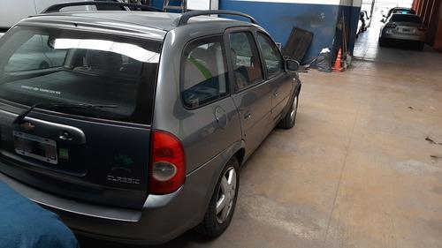 chevrolet classic wagon lt 1.4 2010 gris.5 ptas.