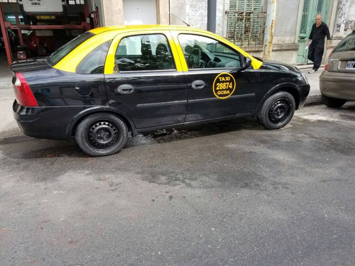 chevrolet corsa 2 taxi con licencia y gnc muy buen estado